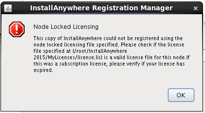 Unable To License 64 Bit Version Of InstallAnywher