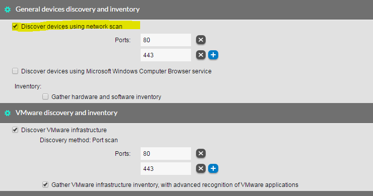 VMware vCenter Step1 - Discover the device information