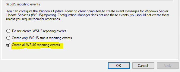 Enable WSUS reporting events in SCCM.PNG