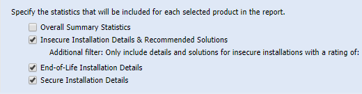 """Don't select """"detailed"""" report if you have millions of applications."""