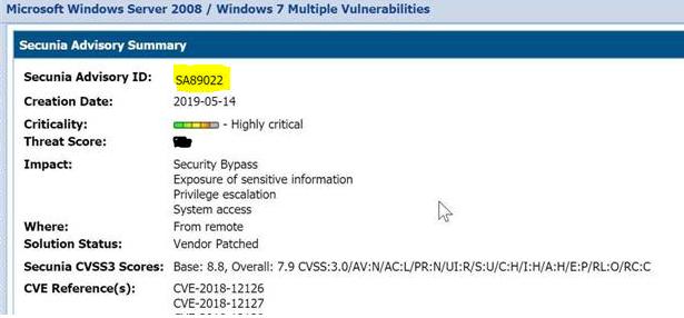 Microarchitectural Data Sampling (MDS) Vulnerabili